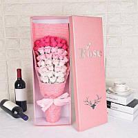 51 шт Мыло Роза Цветы в коробке День Святого Валентина подарок 60*20*12 см