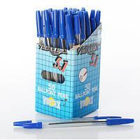 Ручка 938 синий (Korvina) 50шт в дисплее