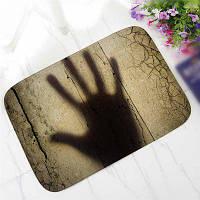 Творческий характер Страшный черный шаблон тени Antiskid Floor Mat Цветной
