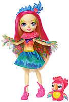 Кукла Enchantimals Пикки Какаду Peeki Parrot Doll & Sheeny
