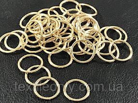 Кольцо бельевое 12 мм цвет золото