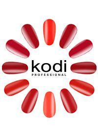 "Гель-лаки Kodi Professional ""Basic collection"" Red (r) 8 мл"