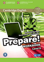 Cambridge English Prepare! 6 Workbook with Downloadable Audio / Рабочая тетрадь