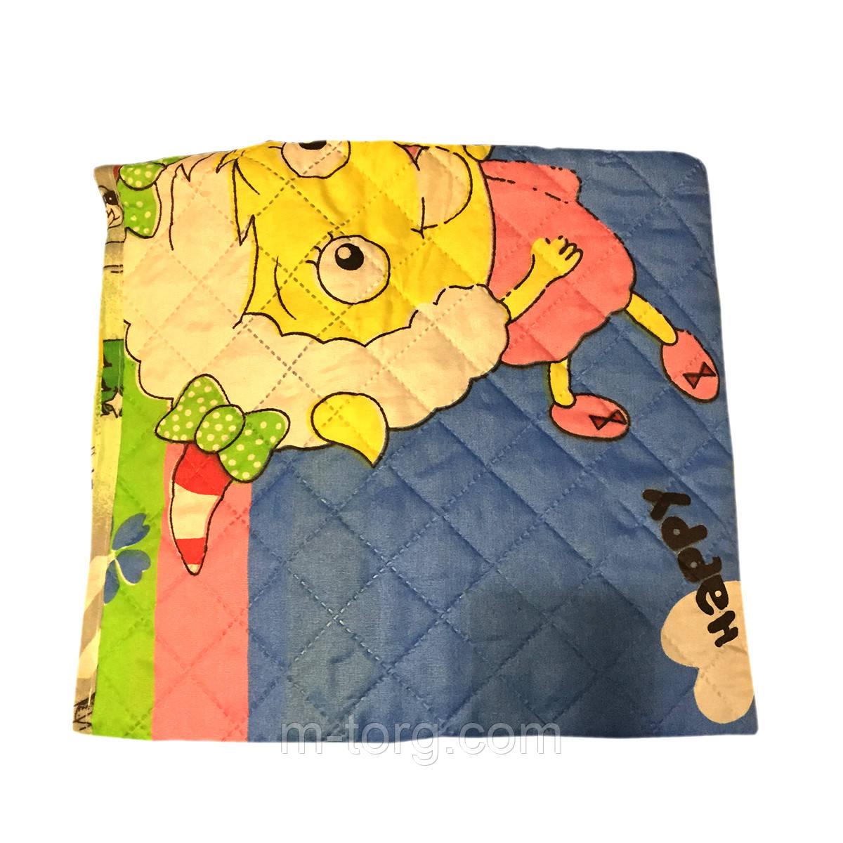 """Одеяло детское """"Летнее универсальное"""",ткань поликотон,наполнитель силикон 110*150"""