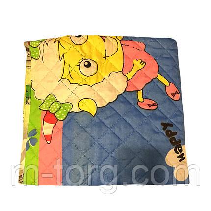 """Одеяло детское """"Летнее универсальное"""",ткань поликотон,наполнитель силикон 110*150, фото 2"""