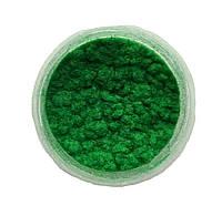 Зеленая Флок-пудра, бархатная пудра (пыльца, ворсовой порошок, ворса) 80 мл №6, фото 1