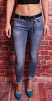 Женские джинсы норма Cudi узкие (код 9351) 25-30 размер