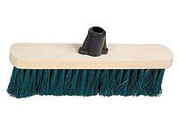 Щітка дерев'яна для підмітання підлоги, 280 мм, без держака,  СИБРТЕХ