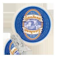 "«LANDANA» Goat  Cheese BLEU-BLUE козий сыр   ""синяя плесень"""