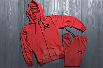 Спортивный костюм Bad Boy красного цвета (люкс копия)