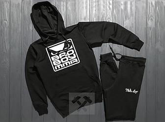 Спортивный костюм Bad Boy черного цвета (люкс копия)
