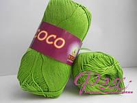 Пряжа хлопковая Vita cotton Coco ( Вита коттон Коко ) №3861