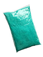 Бирюзовая Флок-пудра, бархатная пудра (пыльца, ворсовой порошок, ворса) 330 грамм/упаковка №21, фото 1