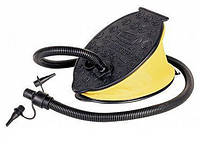 Насос ножной для накачивания надувной продукции intex bestway матрасы кровати диваны лодки с насадками