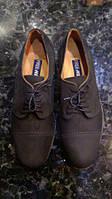 Туфли кожаные нубук Геокс Geox 46-47