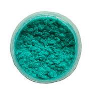 Бирюзовая Флок-пудра, бархатная пудра (пыльца, ворсовой порошок, ворса) 15 мл №21, фото 1
