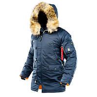 Куртка Winter Parka / Thinsulate (rep.blue\ orange). AirBoss.COMPANY