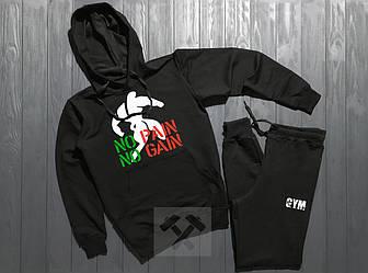 Спортивный костюм World Gym черного цвета