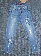 Весенние джинсовые брюки для девочек