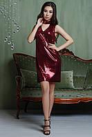 Вечернее платье цвет: марсала, размер: M, S, XS