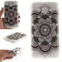 Black Sunflower Diamond Soft Clear IMD TPU Корпус для мобильного телефона Смартфон Корпус Корпус для Samsung J2 Prime Чёрный