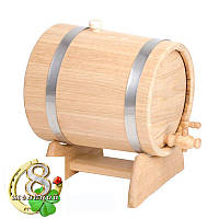 Жбан - бочка для вина и коньяка 15 л (нерж)