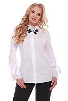 Нарядная блузка больших размеров Агата