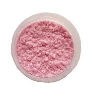 Светло-розовая Флок-пудра, бархатная пудра (пыльца, ворсовой порошок, ворса) 80 мл №17, фото 1