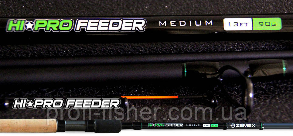 Фидерное удилище ZEMEX Hi ProFeeder 10ft до 50 гр - Южная Корея