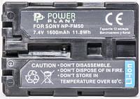 Аккумулятор PowerPlant Sony NP-FM50/QM51 1600mAh