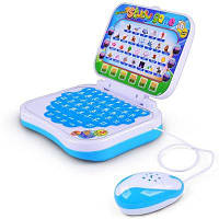 Дети раннего образования Puzzle Story Обучающая машина синий в полоску