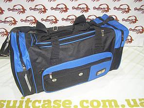 Дорожная сумка MagDa 42 Л. - синяя