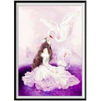 NAIYUE 8764 Лебединая принцесса Живопись для принтов Алмазная живопись Алмазная вышивка