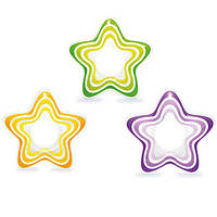 "Intex Круг 59243 NP ""Звезда"" (36) 3 цвета, винил, размером 74х71см, от 3 до 6 лет"