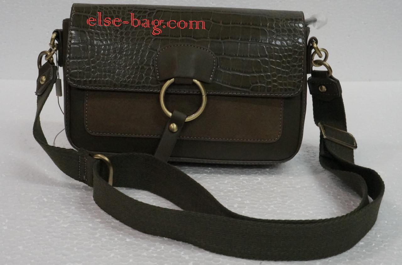 17039543f397 Женская сумка David Jones на широком ремне -