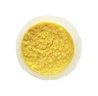 Лимонная Флок-пудра, бархатная пудра (пыльца, ворсовой порошок, ворса) 15 грамм №33, фото 1
