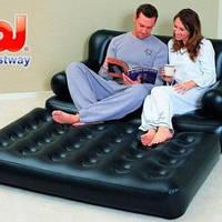 Надувной матрас диван кровать кушетка трансформер 5в1 универсальный надежный