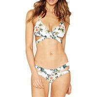 Листовые цветочные крест Sexy Bikini Set