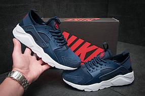 Кроссовки мужские Nike Air Huarache, темно-синие (11592), р. 41-46
