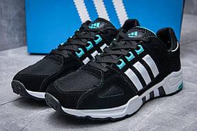 Кроссовки мужские Adidas EQT Support 93, черные (11651), р. 41-45