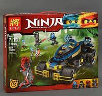 """Конструктор детский аналог лего  """"NINJAGO"""" 31026  Ninjago «Самурай VXL», 448 деталей, в коробке"""