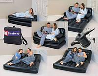 Надувной,матрас,диван,кровать,кушетка сова трансформер 5в1 с встроенным электро насосом