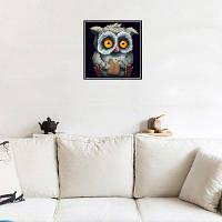 Naiyue 9550 Алмазный чертеж для рисования сова Цветной