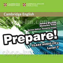 Cambridge English Prepare! 7 Class Audio CDs / Аудио диск