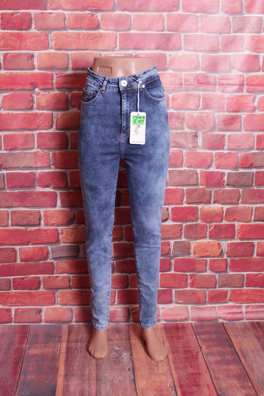 Турецкие джинсы женские со змейкой сзади американка IT'S (код 1030)