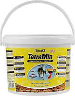 TetraMin 10L/2,1кг корм в виде хлопьев для тропических рыб