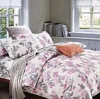 Полуторное постельное белье, Фукко, сатин 100%хлопок