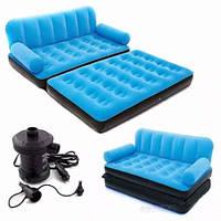 Надувной,матрас,диван,кровать,кушетка трансформер 5в1