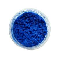 Синяя Флок-пудра, бархатная пудра (пыльца, ворсовой порошок, ворса) 15 мл №11, фото 1