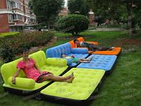 Надувной,матрас,диван,кровать,кушетка + насос трансформер 5 в 1